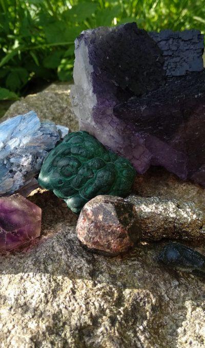 Význam barev u krystalů a minerálů
