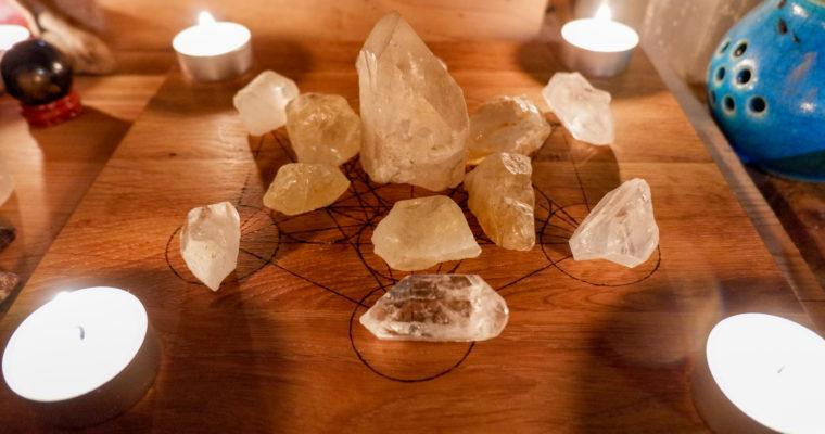 Vize, záměr…krystalová mřížka