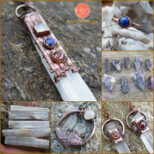 šperky z krystalů