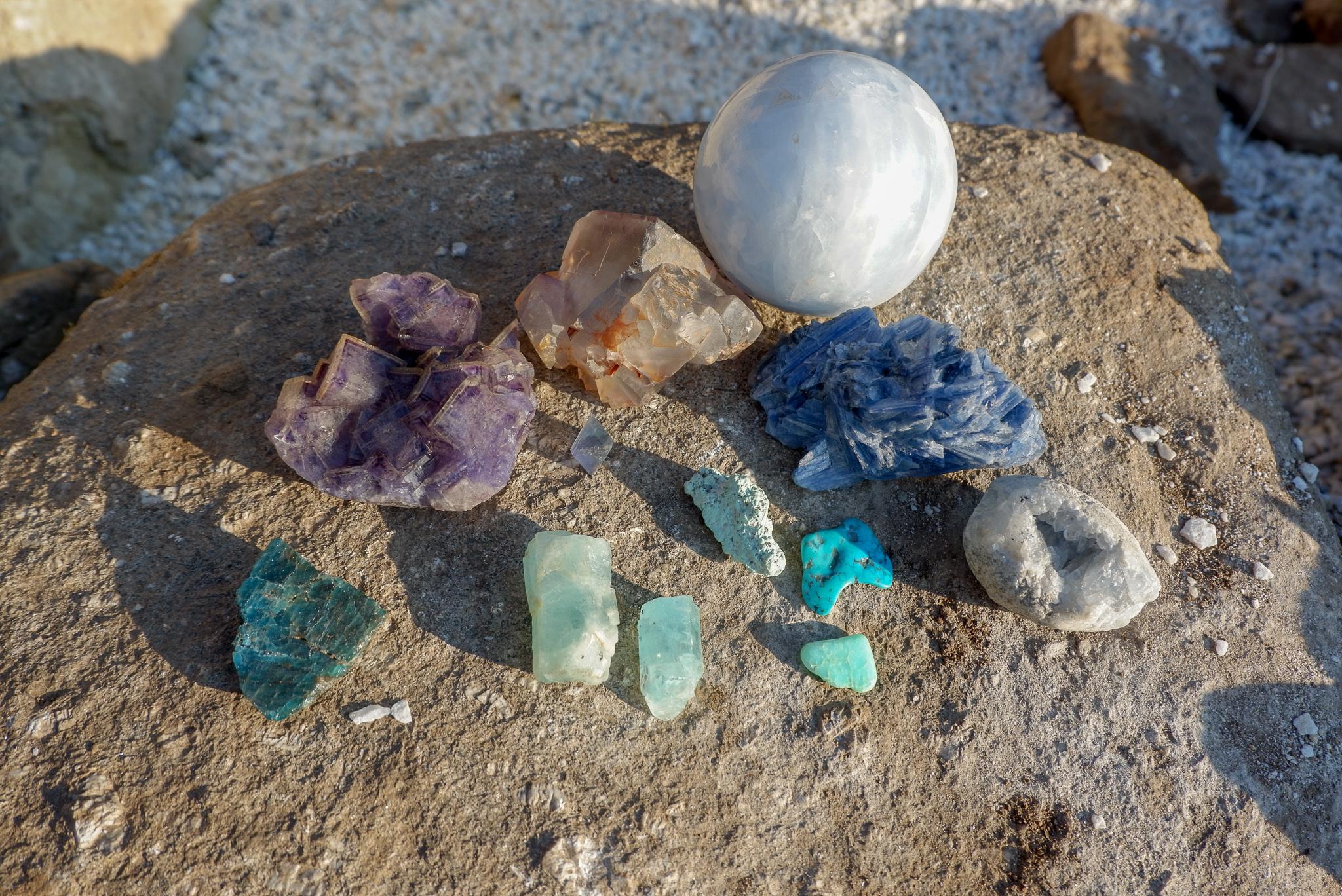 Krystaloterapie – posílení schopnosti sebevyjádření