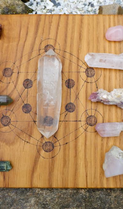 Proměňte svůj život – zapojte do něj krystaly