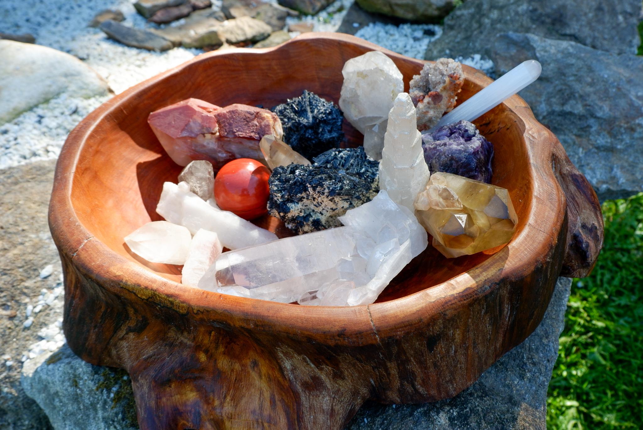 Jak volit minerály do krystalové mřížky