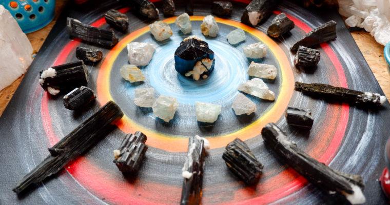 Krystaloterapie – Co se zlostí?