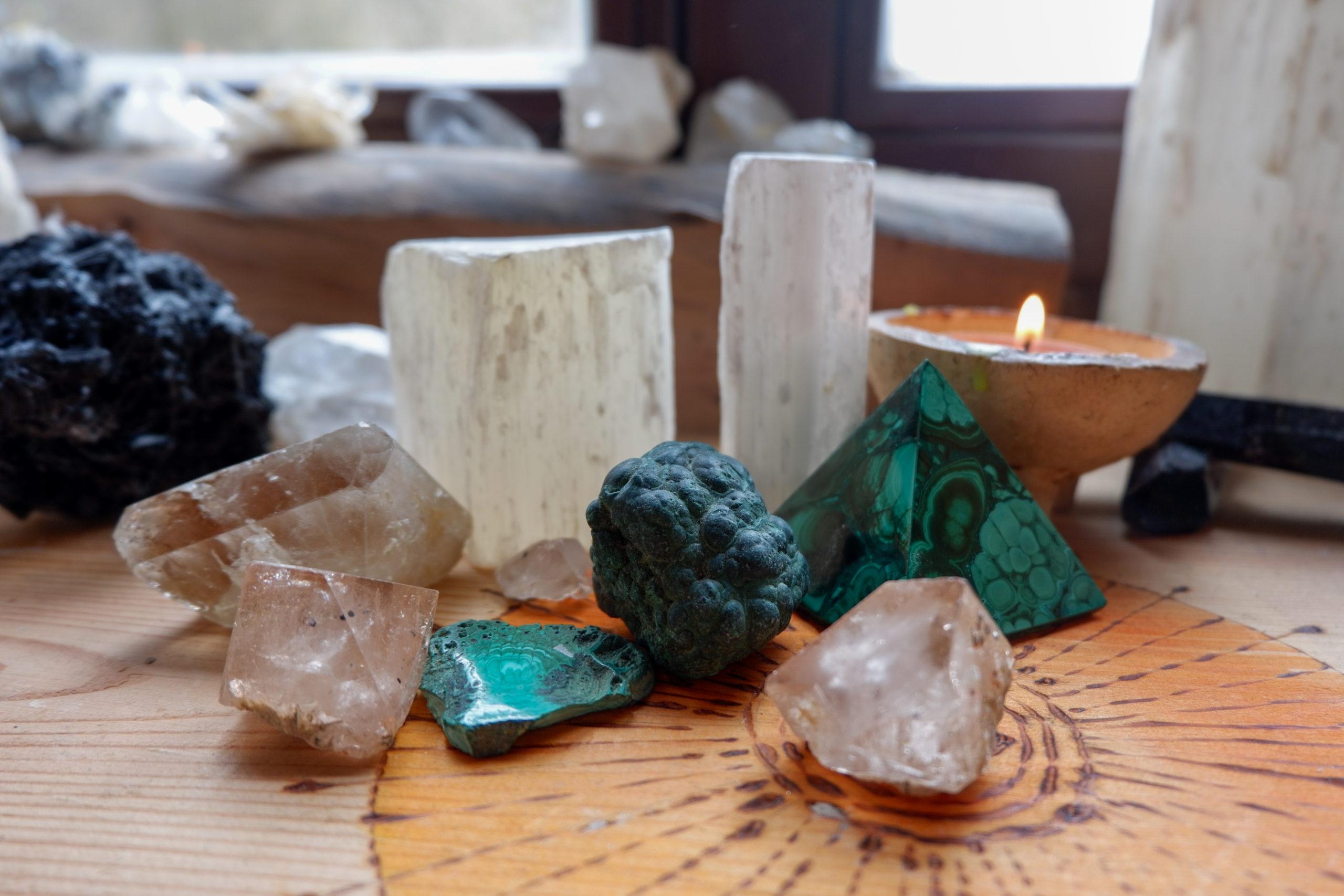 Krystaloterapie – Práce se záměrem