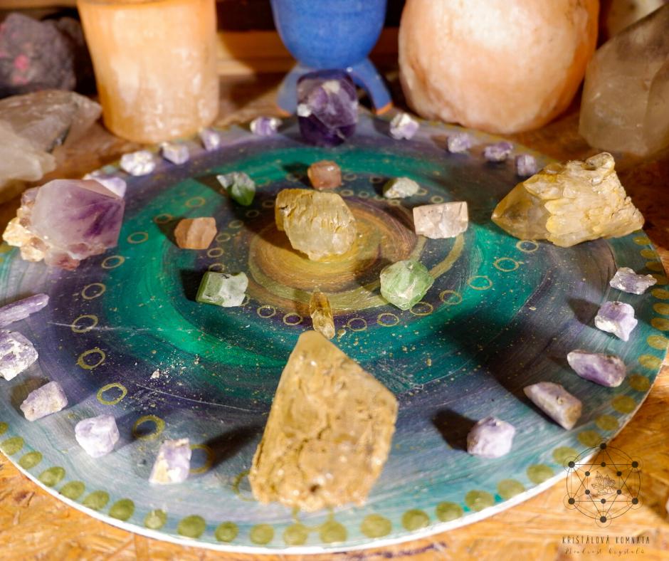 Krystalová mřížka – životní energie/hojnost
