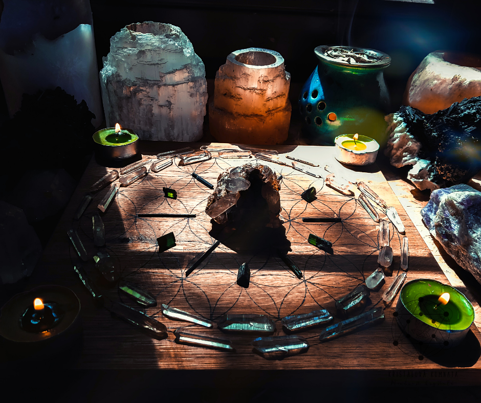 Krystalová mřížka – rituál či věda?