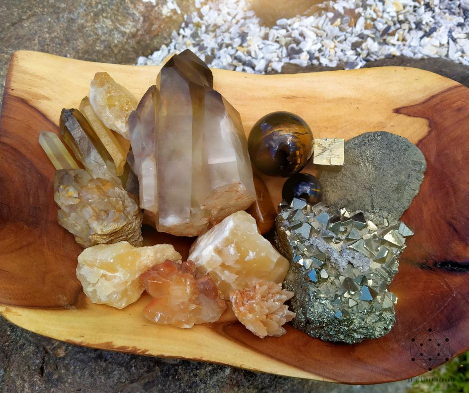 Základy práce s energií krystalů – Pupeční čakra
