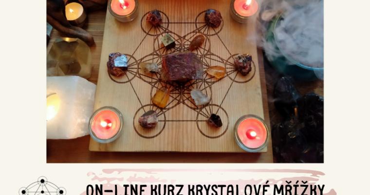 On-line kurz Krystalové mřížky – Spolupráce s krystaly v praxi