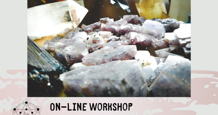 "On-line workshop ""aktivace energetických center s krystaly"""